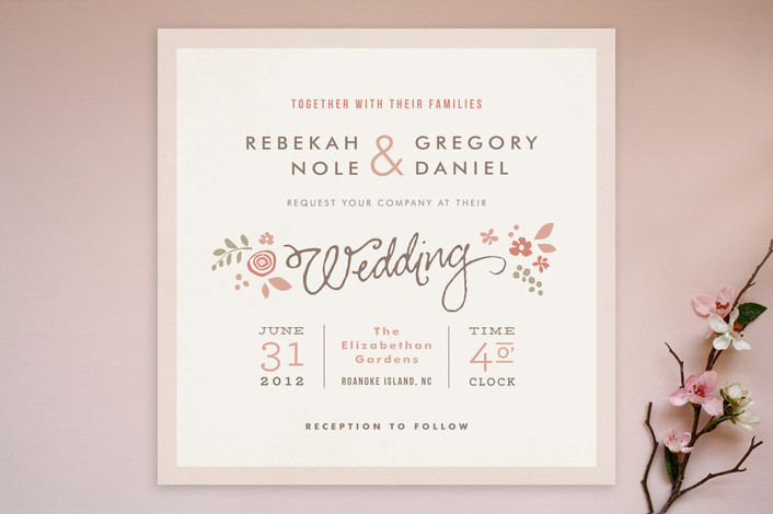 romantic rustic wedding invitations rustic wedding chic