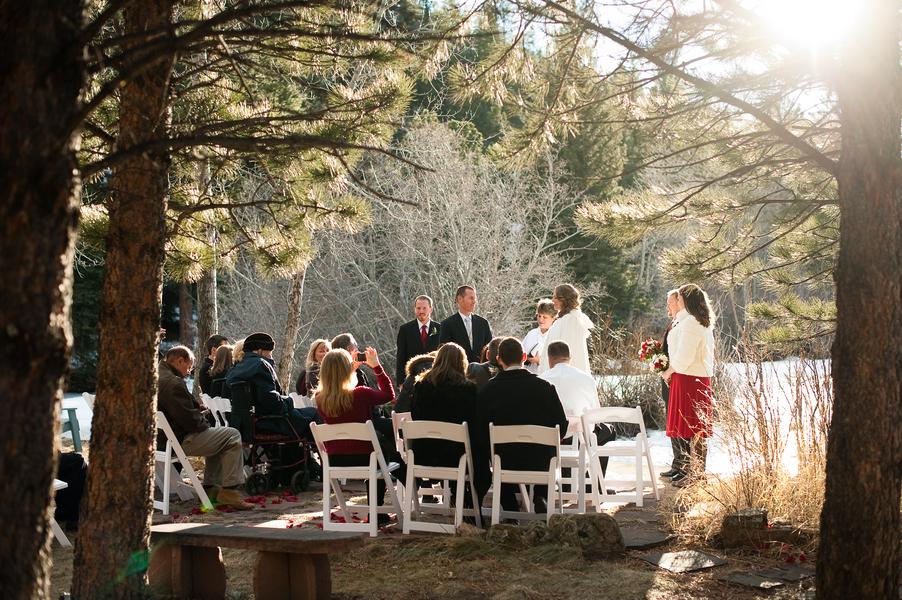 Estes Park Colorado Winter Rustic Wedding - Rustic Wedding ...