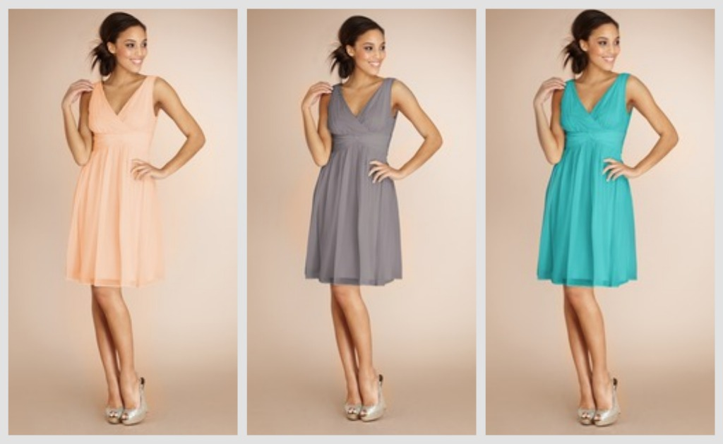 Bright Coloured Bridesmaid Dresses: Donna Morgan Bridesmaid Dresses