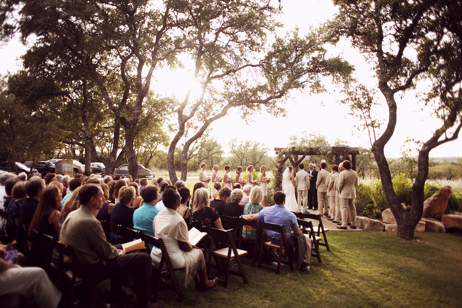 Austin Texas Rustic Wedding