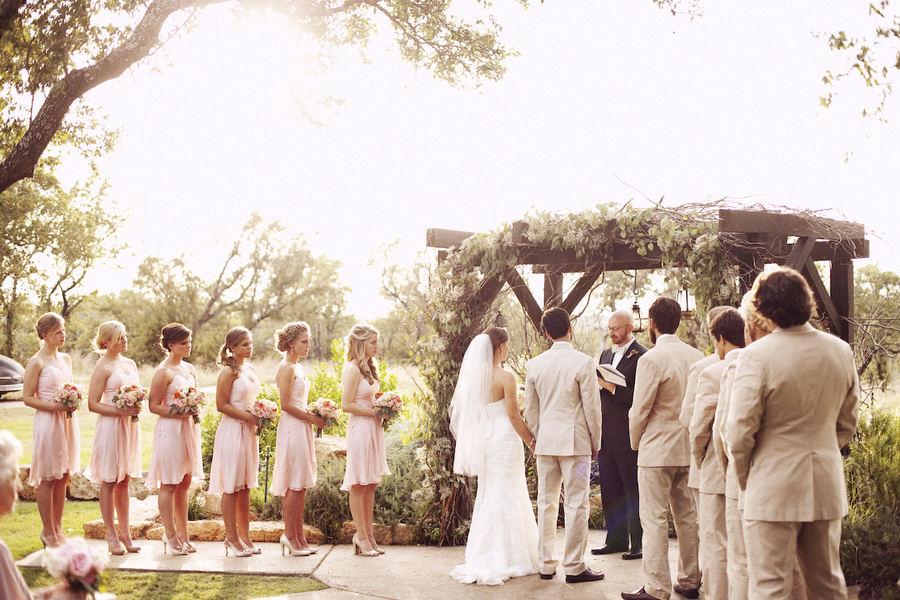 Austin texas rustic wedding at west vista ranch rustic for Wedding dress rental austin tx