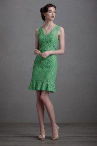green-bridesmaid-dress