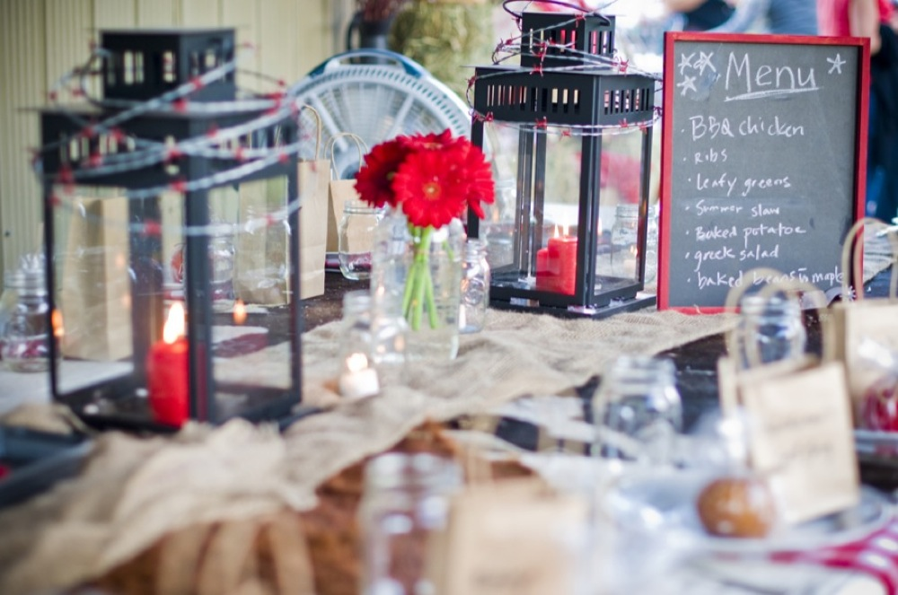 Western Style Rehearsal Dinner - Rustic Wedding Chic