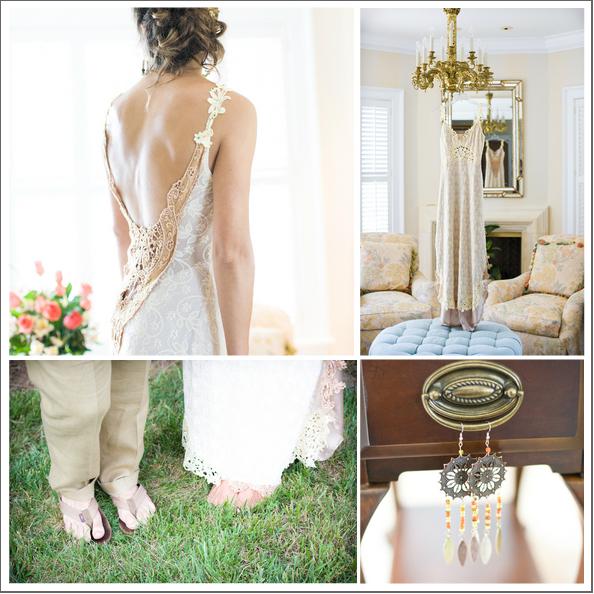 Rustic backyard diy wedding rustic wedding chic for Southern country wedding dresses
