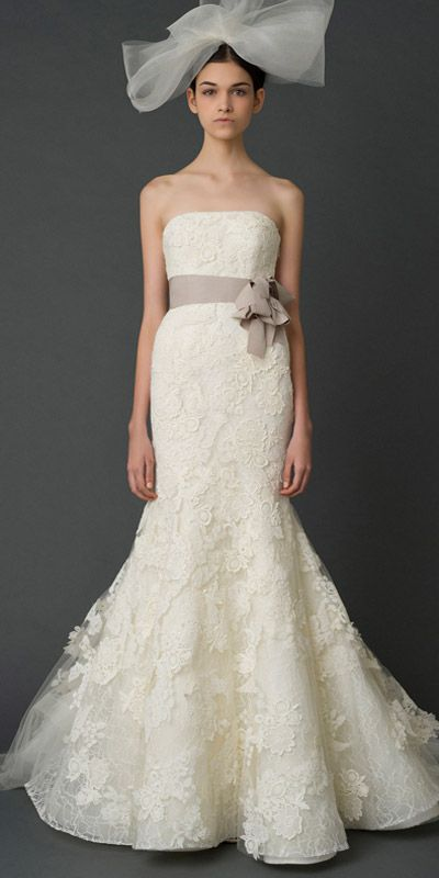 Vera Wang Gowns For A Rustic Wedding - Rustic Wedding Chic