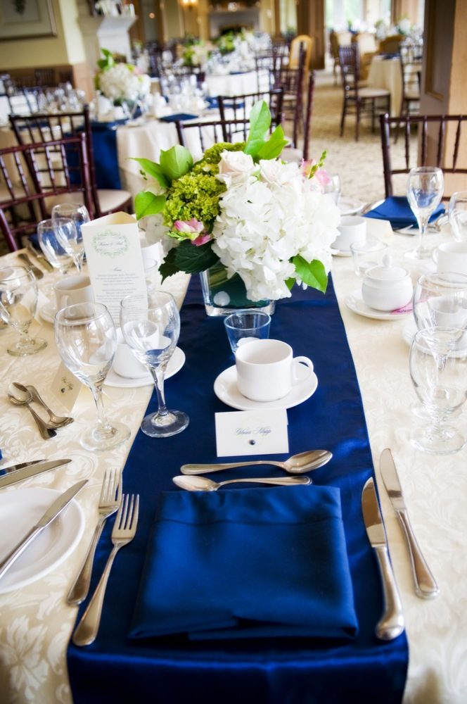 Blue Themed Rustic Wedding Part II - Rustic Wedding Chic