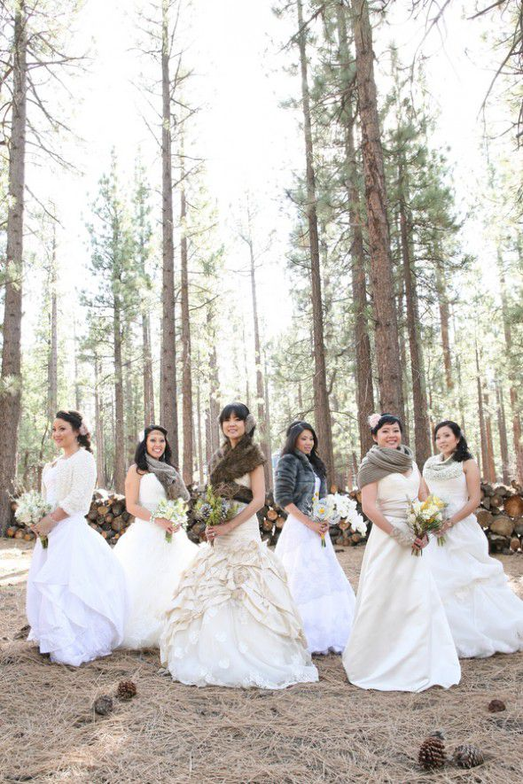 bride-in-woods
