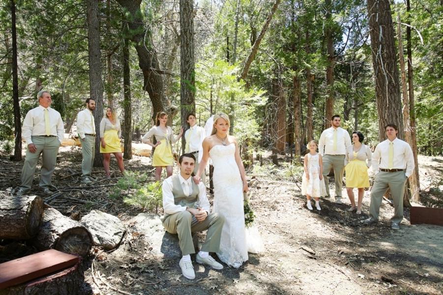 California Rustic Cabin Style Wedding Rustic Wedding Chic