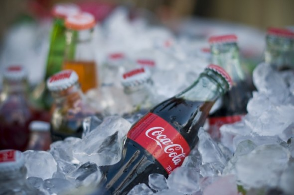 coke-bottles-at-wedding