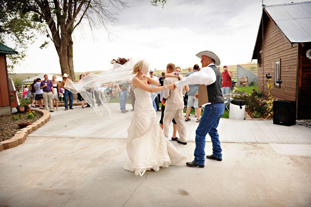 Country Backyard Style Wedding Rustic Wedding Chic
