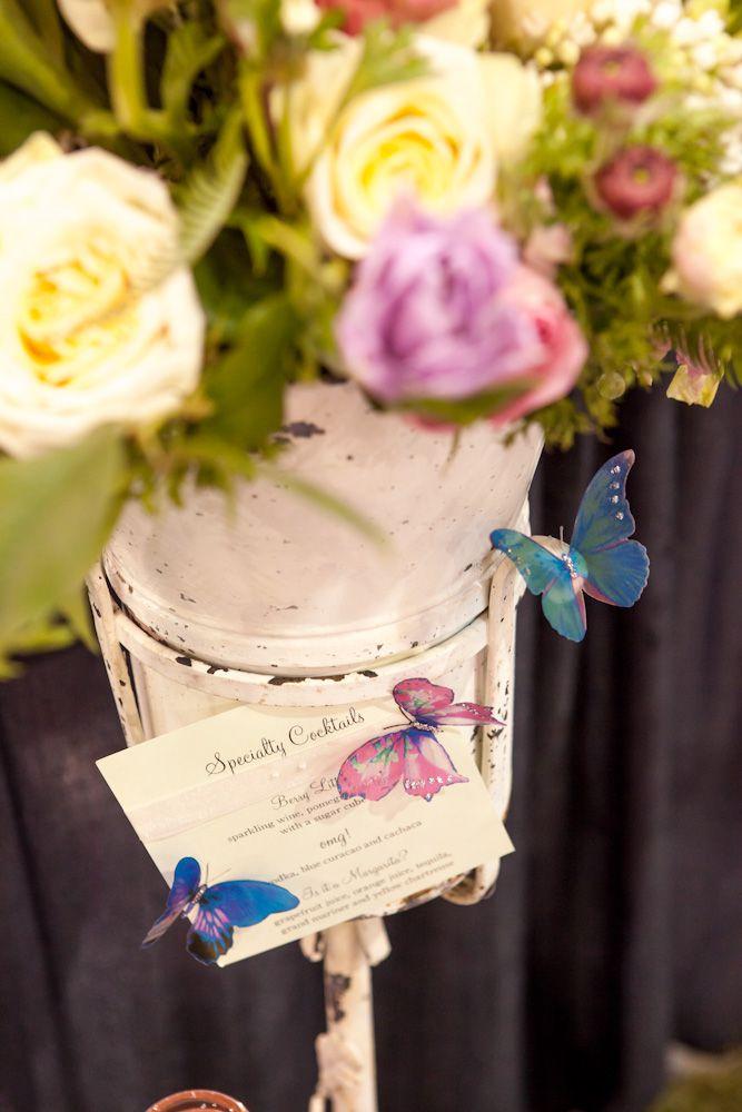 Vintage Garden Style Wedding Inspiration - Rustic Wedding Chic