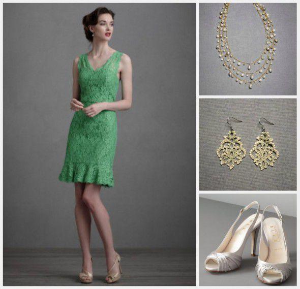 green-bridesmaid-dress-idea