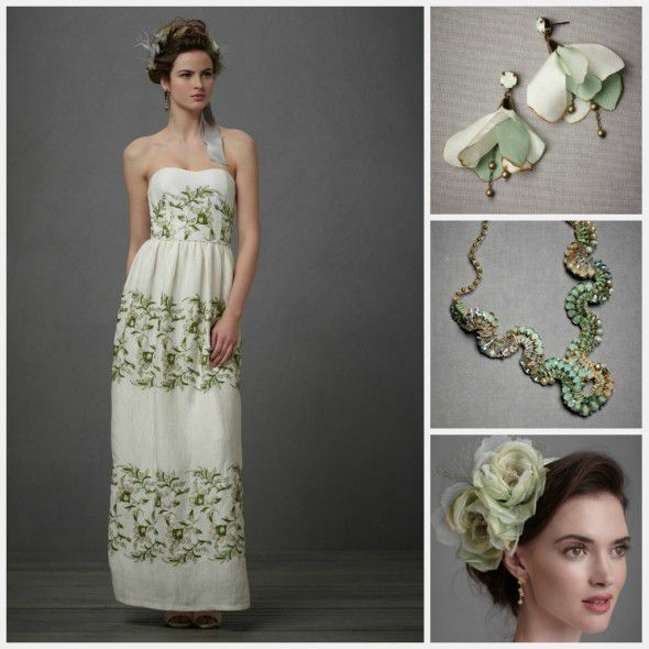 green-wedding-inspiration-for-bride