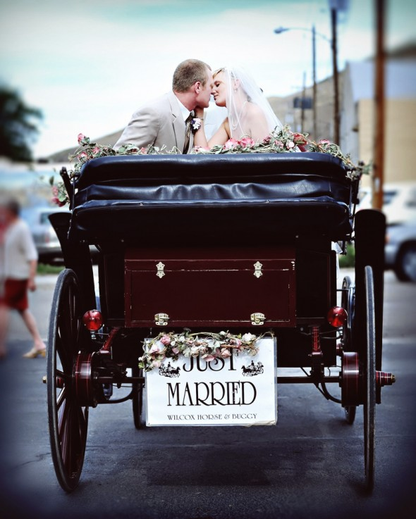horse-buggy-wedding