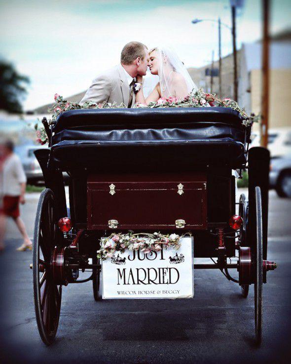 horse-buggy-wedding