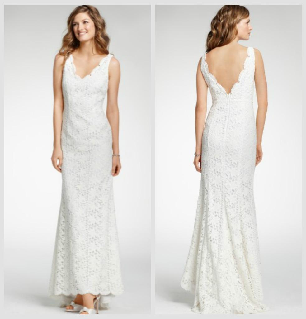Rustic Wedding Gown Under 900