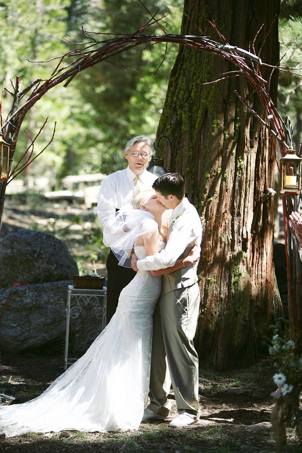 Rustic Wedding In Big Bear California