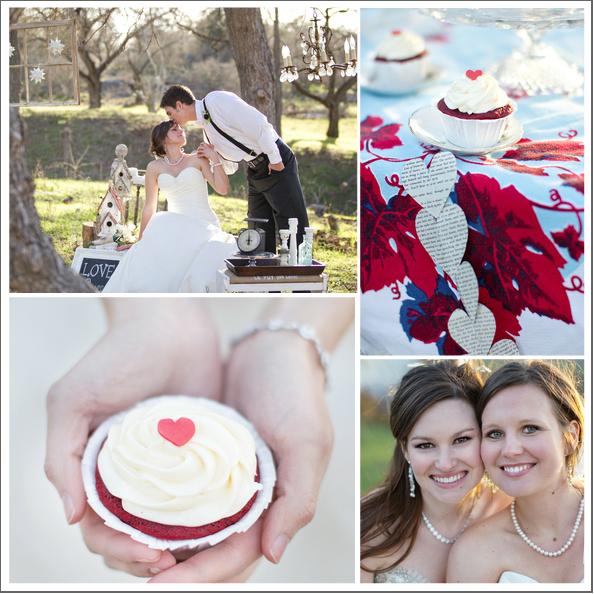 Wedding Red And White Theme: Rustic Ranch Wedding Inspiration Shoot