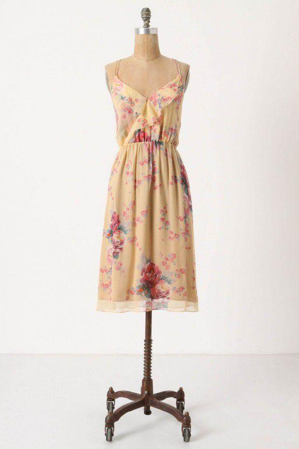 rose-patterned-bridesmiad-dress
