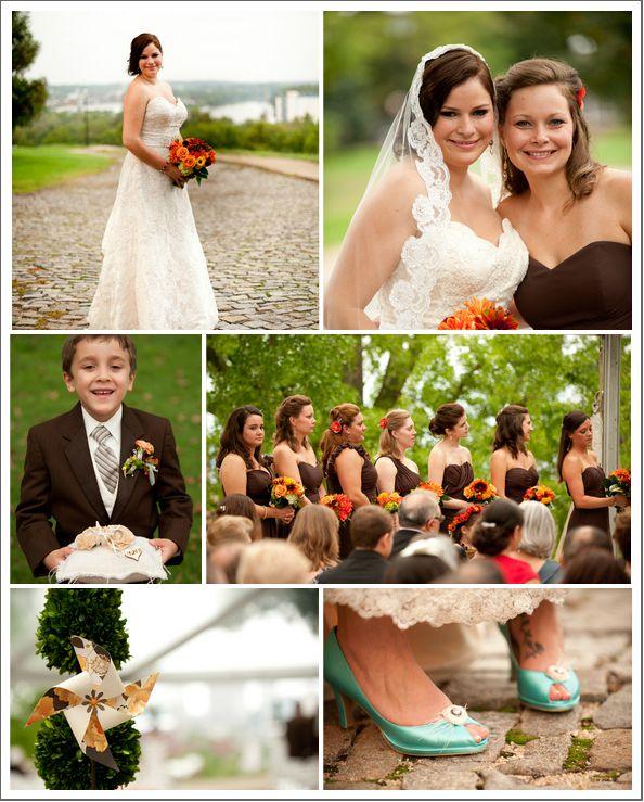 Richmond Virginia Rustic Fall Wedding