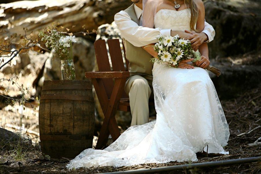 Rustic Wedding In Big Bear California