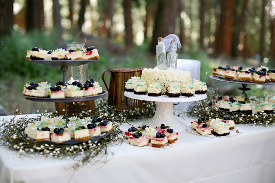 Country Wedding Cake With Cupcakes Rustic In Big Bear California Chic