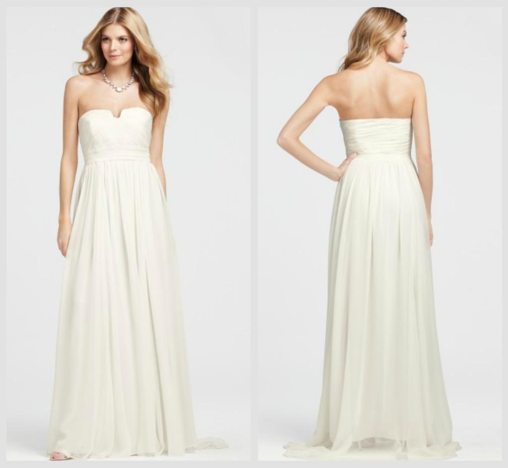 Rustic Wedding Gown Under $900