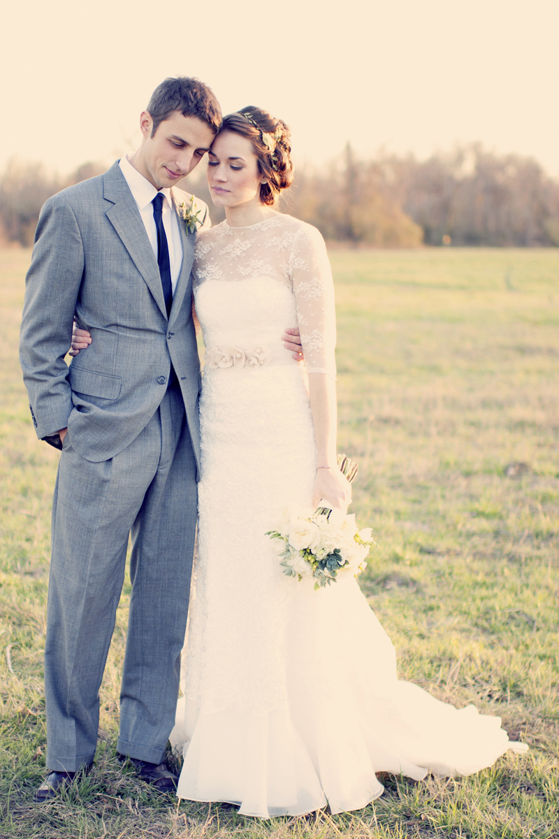 Vintage Chic Rustic Style Wedding