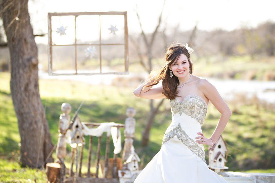 Texas Ranch Rustic Wedding Inspiration - Rustic Wedding Chic