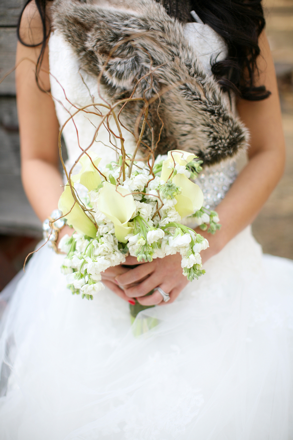 Rustic Winter Bridal Inspiration Shoot Rustic Wedding Chic