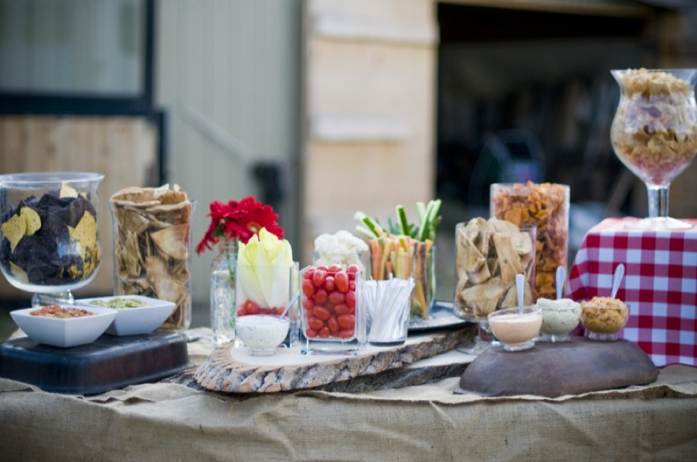 Western Backyard Ideas : Western Style Rehearsal Dinner  Rustic Wedding Chic