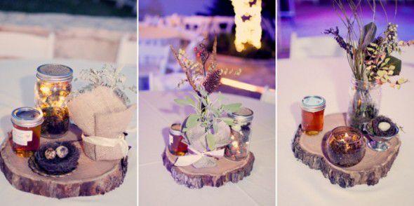Rustic wedding centerpieces rustic wedding chic rustic wedding centerpieces junglespirit Choice Image