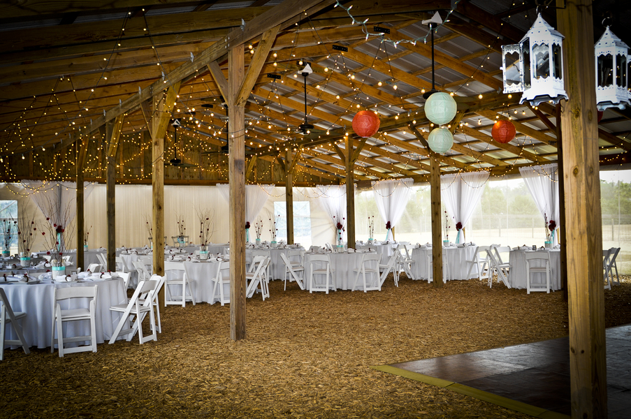 florida country barn wedding rustic wedding chic