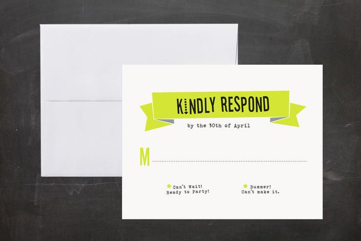 Word 2007 Wedding Invitation Response Card