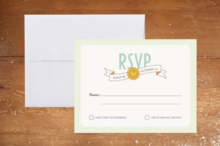 Wedding Rsvp Wording How to Uniquely Word Your Wedding RSVP Card ...