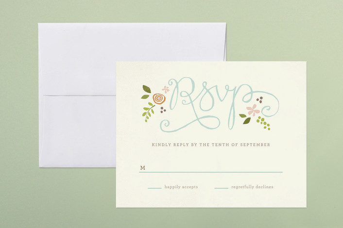Wedding rsvp wording how to uniquely word your wedding for Rsvp cards for weddings templates