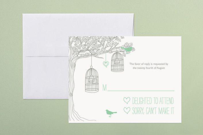 designs by n wedding rsvp postcards