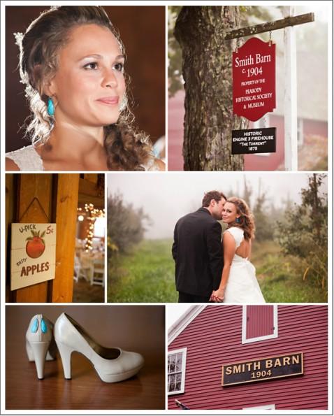 Barn Style Wedding In Ma: Massachusetts Barn Wedding At Smith Barn
