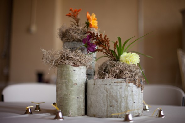 birch-vases-for-wedding-flowers