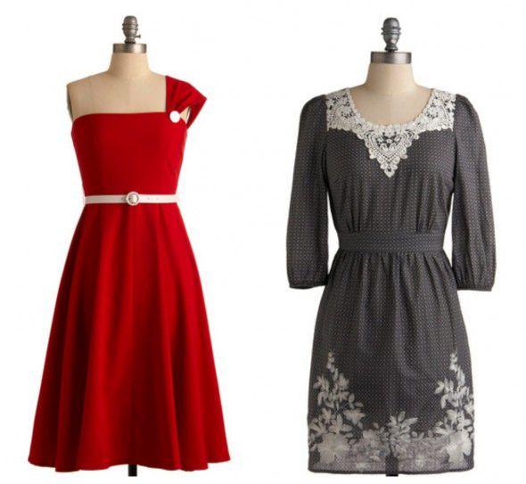 chic-vintage-style-bridesmaid-dress