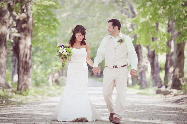 Today 39s rustic wedding took place in the beautiful state of New Hampshire