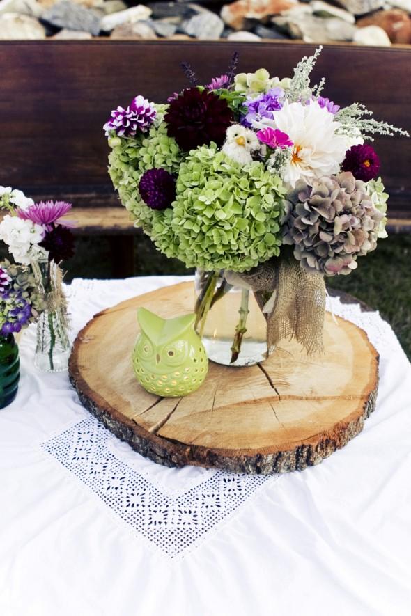 NEW 26 RUSTIC WEDDING FLOWER CENTERPIECES - rustic wedding