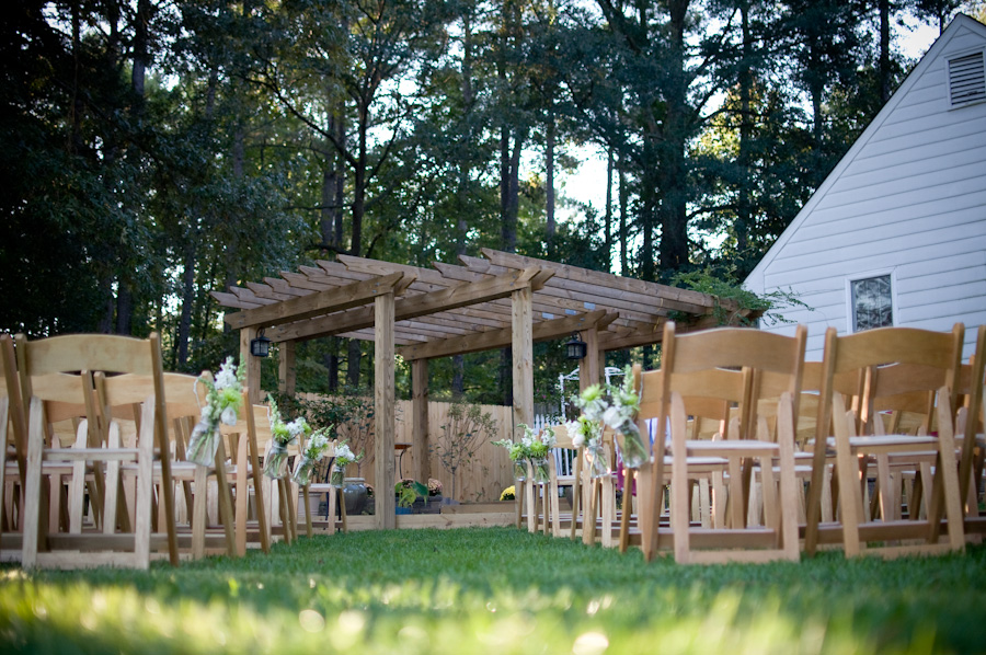 Virginia Backyard Rustic Chic Wedding - Rustic Wedding Chic