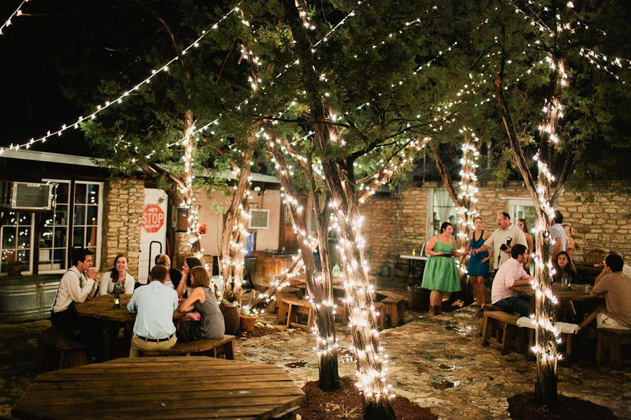 Summer camp style wedding rustic wedding chic outdoor rustic wedding lighting mozeypictures Image collections