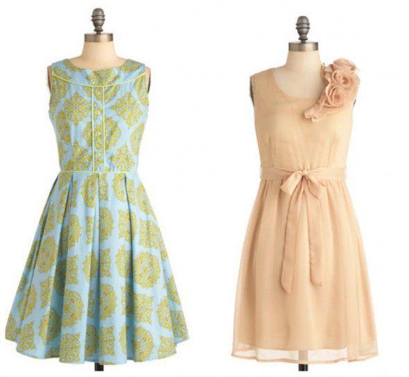 vintage-style-bridesmaid-dresses