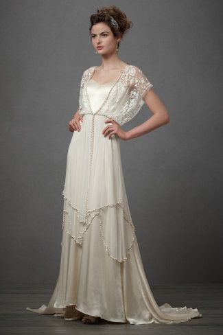 Vintage Style Wedding Gowns For A Summer Wedding - Rustic Wedding Chic