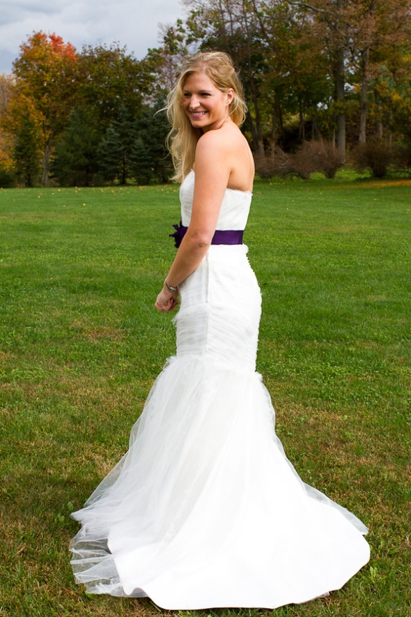 wedding-dress-with-purple-sash