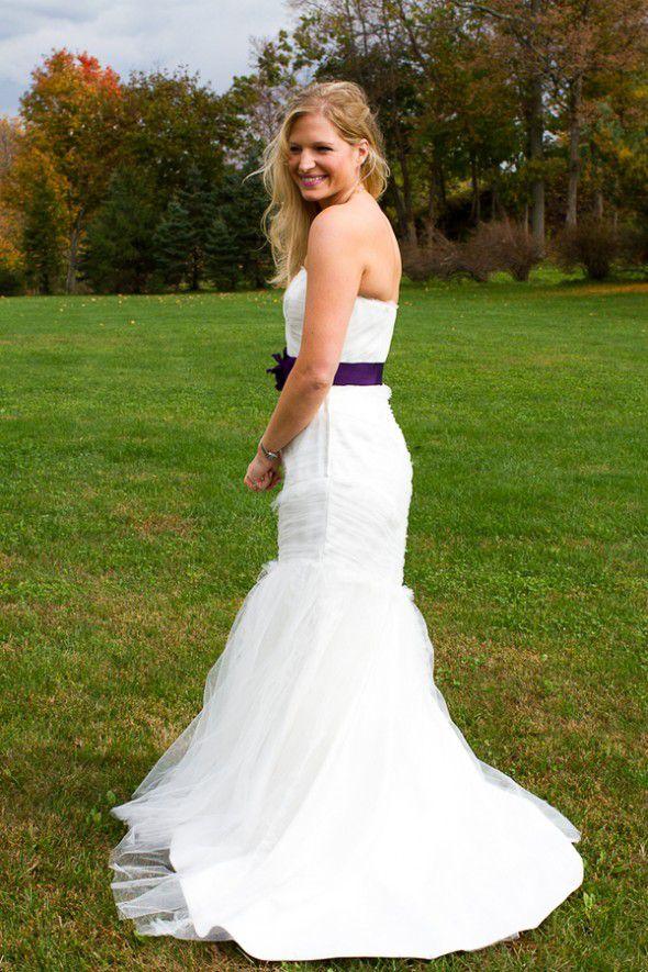 wedding-dress-with-purple-sash