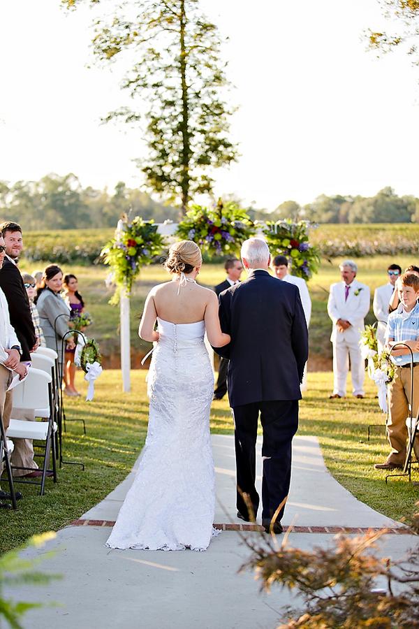Southern Plantation Style Rustic Wedding Rustic Wedding Chic