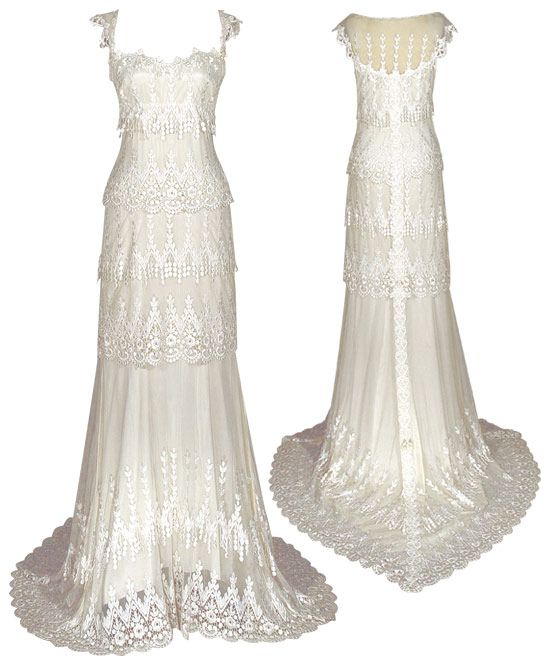Claire Pettibone Wedding Gowns: Wedding Dresses For A Farm Wedding